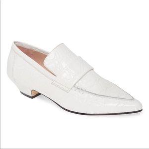 NEW Schutz Emelie White Loafers